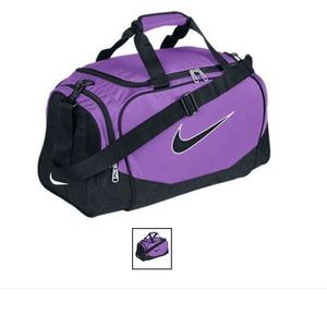 Nike Small Duffel Gym Sport Camping Bag